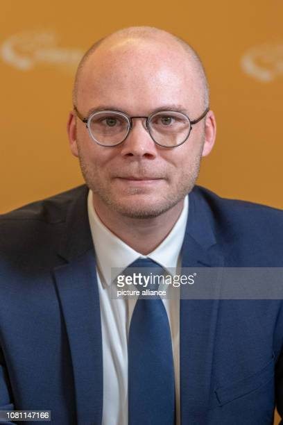 January 2019, Bavaria, Straubing: Fabian Mehring, parliamentary director of the Free Voters in Bavaria. Photo: Armin Weigel/dpa