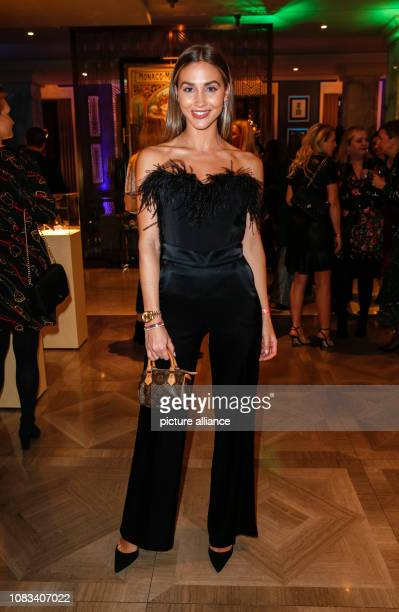 AnnKathrin Goetze is at the 'GRAZIA fashion dinner' at the TITANIC Hotel Gendarmenmarkt At the Berlin Fashion Week the collections for autumn/winter...
