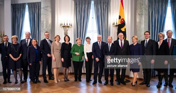 The members of the Federal Government Michael Roth Minister of State for Europe at the Federal Foreign Office Monika Grütters Minister of State for...