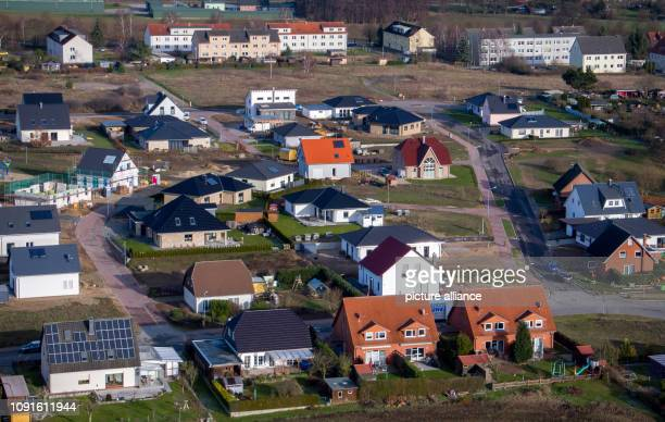 30 January 2019 MecklenburgWestern Pomerania Lützow Residential buildings are located in a housing estate SchleswigHolstein has introduced a new...