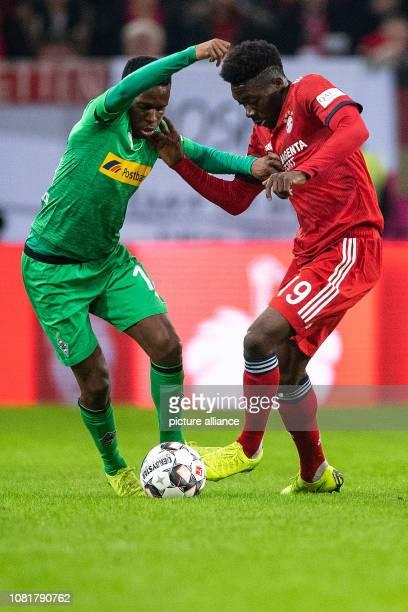 13 January 2019 North RhineWestphalia Düsseldorf Soccer Bundesliga10th Telekom Cup Final Bayern Munich Borussia Mönchengladbach in the Merkur arena...