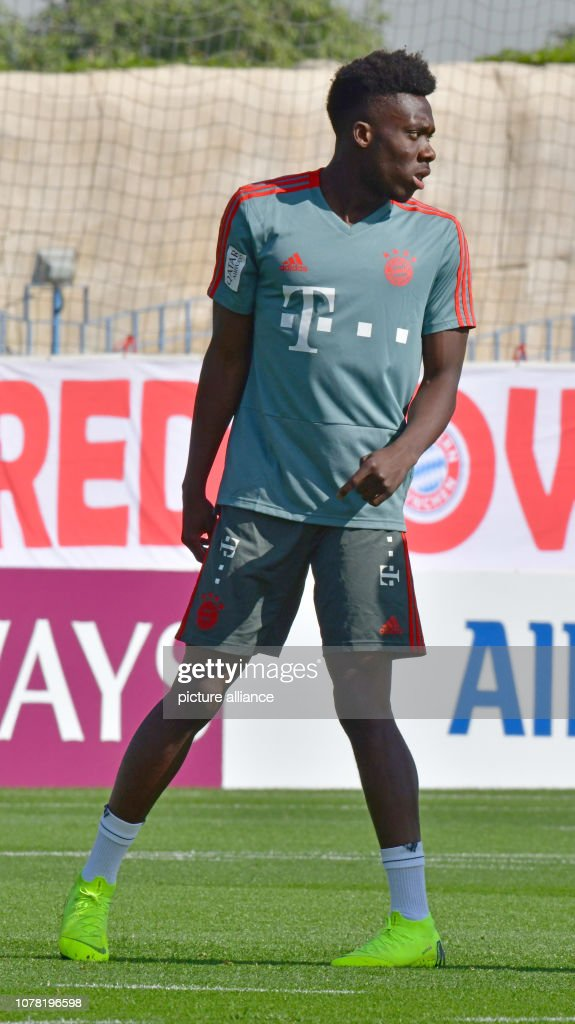 90c29f9ed Training camp FC Bayern Munich in Doha   News Photo
