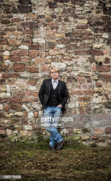 12 January 2019 RhinelandPalatinate Worms André Eisermann actor stands in the Nibelungen city at the historical city wall André Eisermann from Worms...