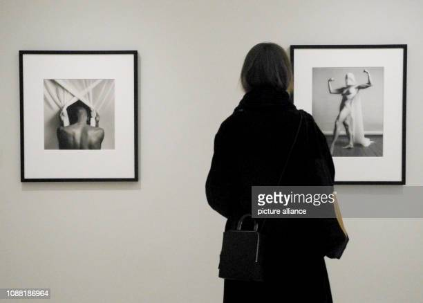 Photos by Phillip Prioleau and Lisa Lyon by photographer Robert Mapplethorpe can be seen in the exhibition Implicit Tensions Mapplethorpe Now at the...