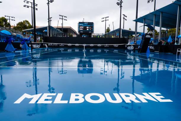 AUS: Australian Open - Rainy Weather