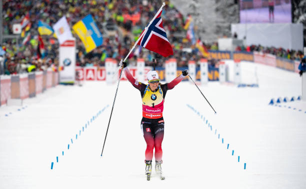 DEU: Biathlon World Cup Ruhpolding - Pursuit Women