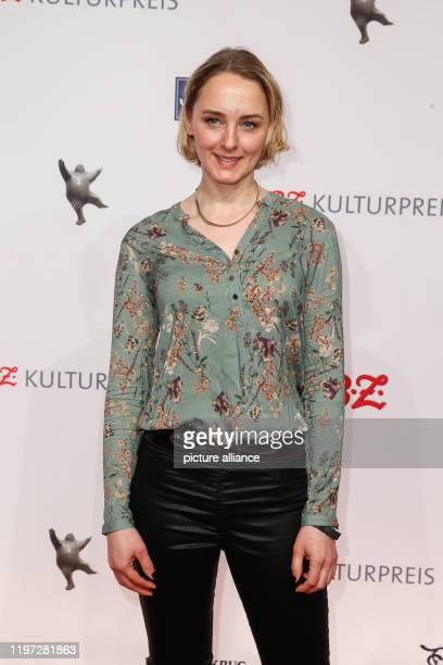 January 2020, Berlin: Anne-Catrin Märzke comes to the 29th B.Z. Culture Prize at the Haus der Berliner Festspiele. Photo: Gerald...
