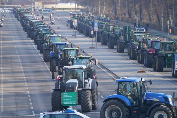 DEU: Farmers Protests In Germany