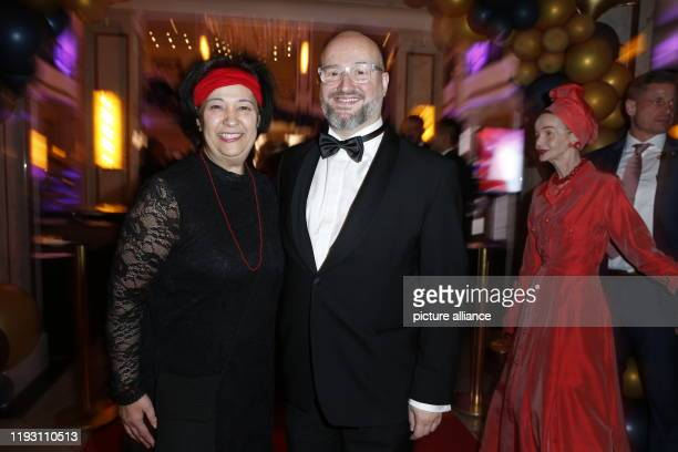 Seyran Ates lawyer and founder of the liberal Ibn Rushd Goethe Mosque in Berlin and her companion will come to the 120th Berlin Press Ball under the...
