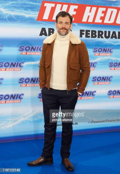 Torben Liebrecht actor comes to the Fan Family Event of the movie Sonic The Hedgehog at the Zoo Palast The film opens in cinemas on 13 February Photo...