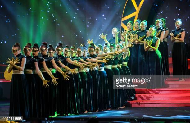 Dancers perform during the 2019 CAF Awards ceremony at Albatros Citadel Photo Ibrahim Youssef/dpa