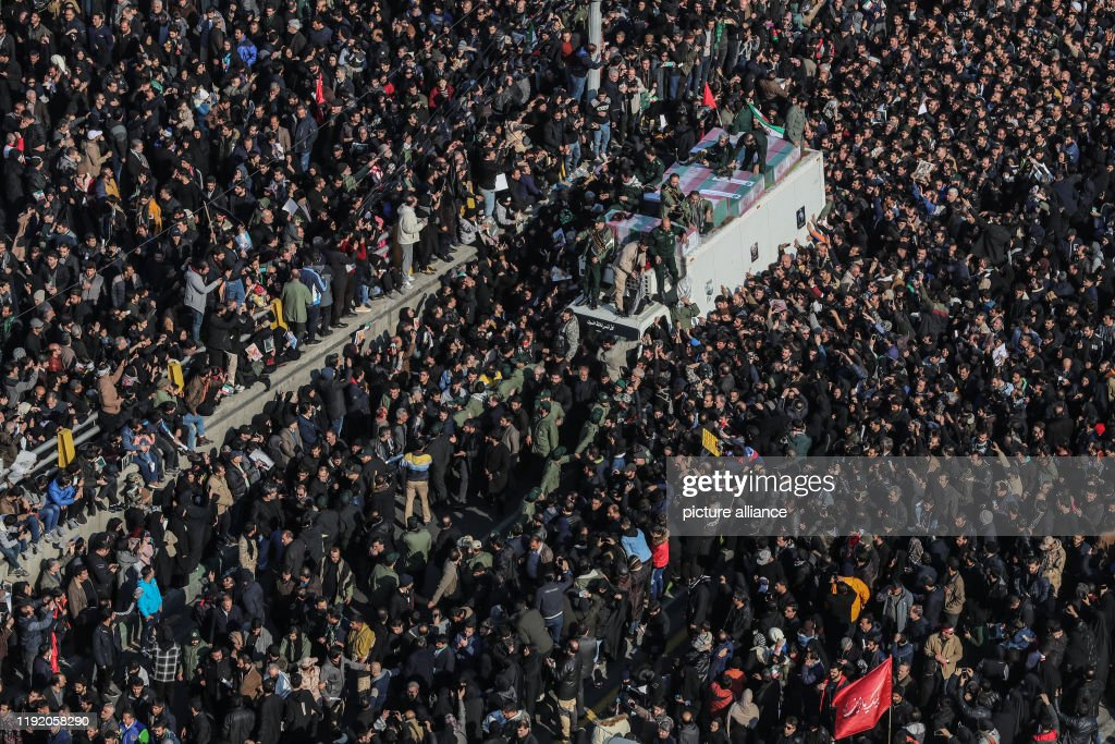 Funeral of top Iranian general Soleimani in Tehran : News Photo