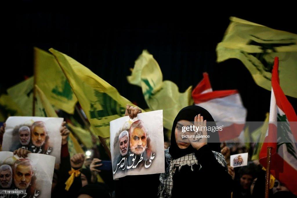 Hezbollah rally in Lebanon : ニュース写真