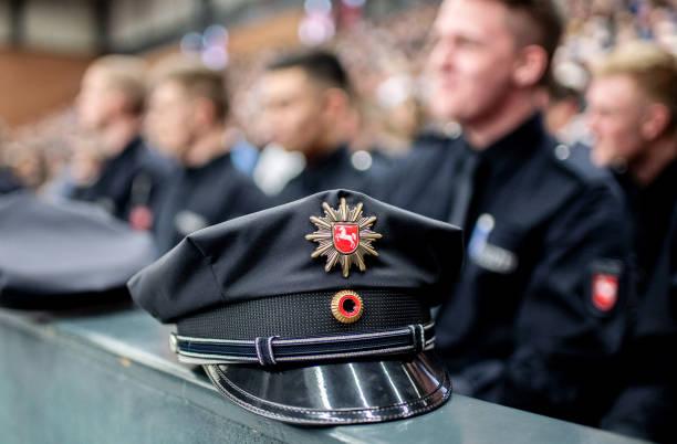 DEU: Sworn In Police Trainees In Lower Saxony