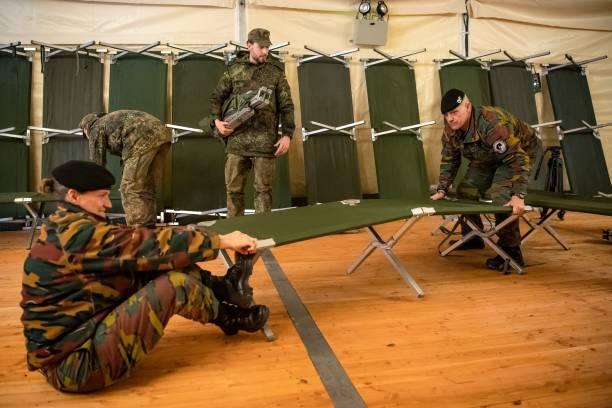 DEU: US Defender Europe 2020 - Special Pioneers Build Tent City