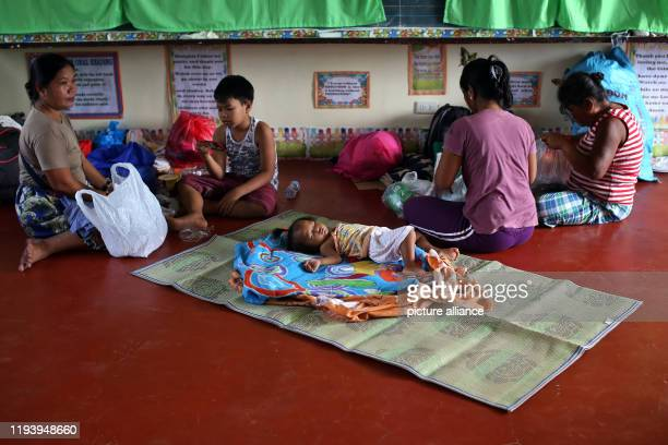 Hundreds of people affected by the eruption of the Taal volcano have been evacuated from a school in Bauan in Batangas province The Taal volcano lost...