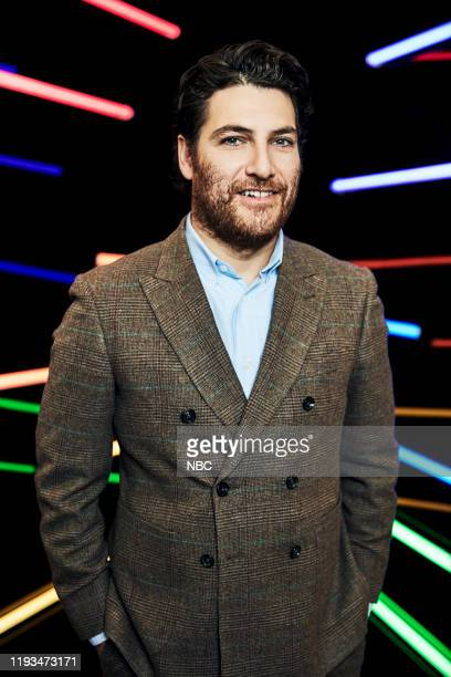 """January 2020 Press Tour Portrait Studio -- Pictured: Adam Pally, """"Indebted"""" --"""