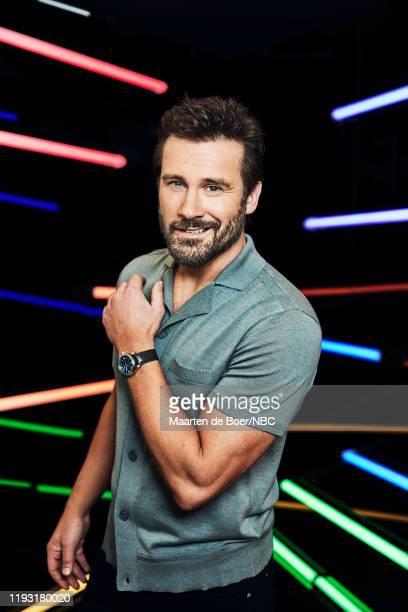 EVENTS January 2020 Press Tour Portrait Studio Pictured Clive Standen Council of Dads