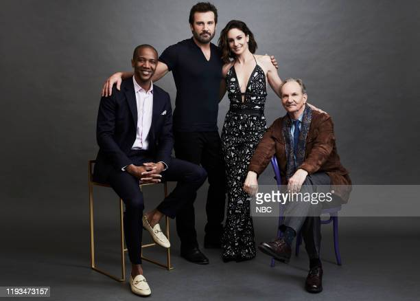 EVENTS January 2020 Press Tour Portrait Studio Pictured J August Richards Clive Standen Sarah Wayne Callies Michael O'Neill Council of Dads