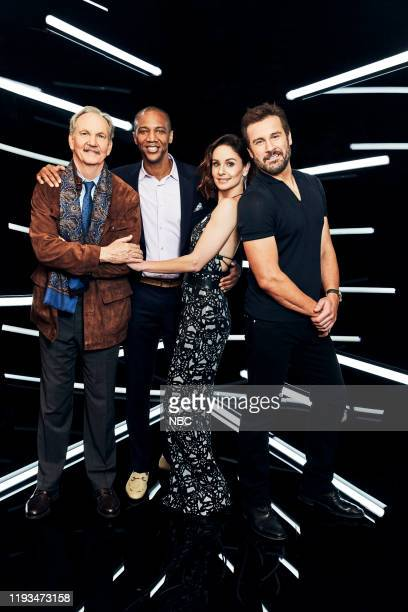 EVENTS January 2020 Press Tour Portrait Studio Pictured Michael O'Neill J August Richards Sarah Wayne Callies Clive Standen Council of Dads