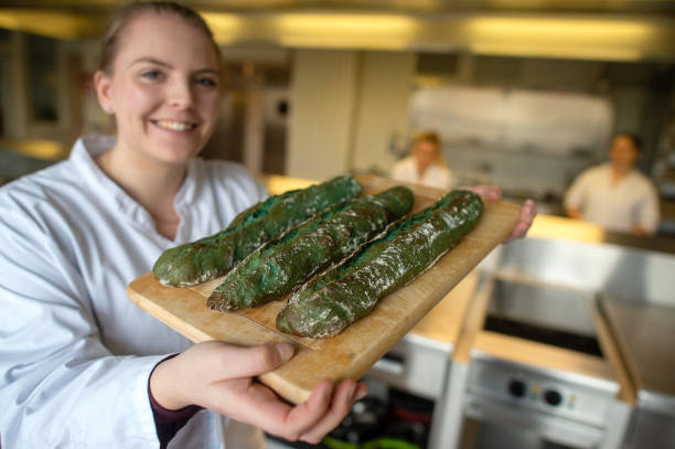 DEU: Green Week 2020 - Algae Bread From Saxony-Anhalt