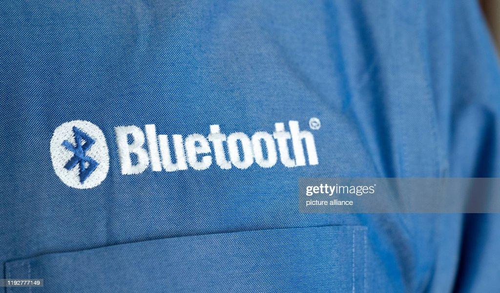 Technology fair CES - Bluetooth : News Photo