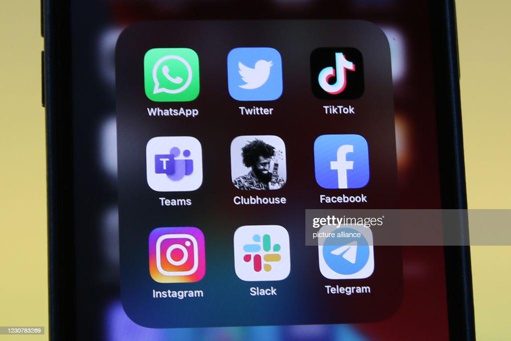 Logos Social Media Apps : ニュース写真