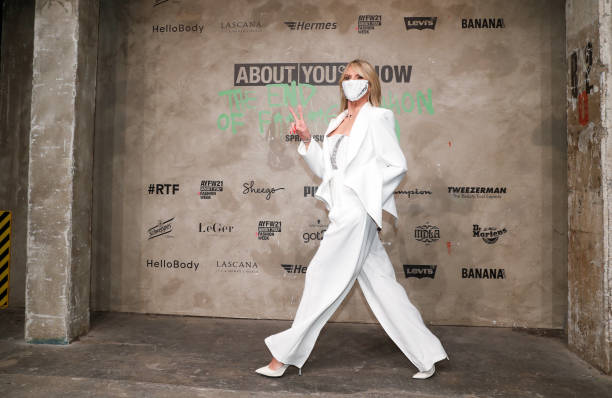 DEU: Berlin Fashion Week - Heidi Klum