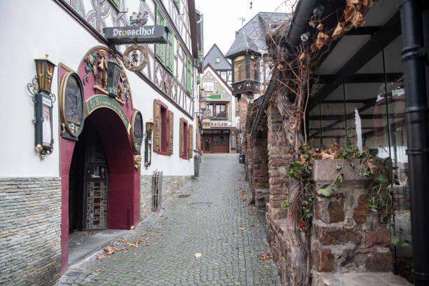 DEU: Coronavirus - Lockdown In The Tourism Hotspot Ruedesheim