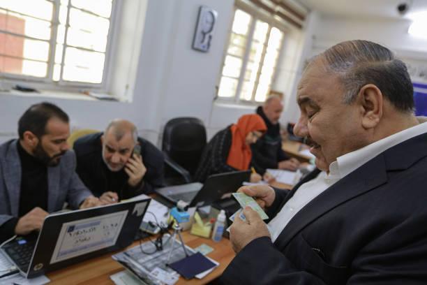 IRQ: Biometric Voter Registration In Baghdad