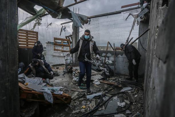 GZA: Israeli Army Strikes Gaza Strip