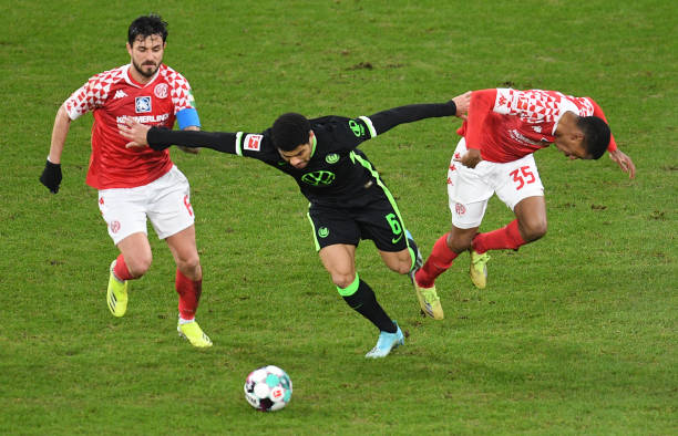 DEU: Bundesliga FSV Mainz 05 - VfL Wolfsburg