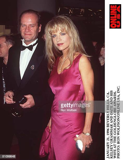 January 21 1996Beverly Hills Ca Kelsey Grammer Arrives At The Golden Globe Awards At The Beverly Hilton Hotel With His Girlfriend Ex Playboy Model...