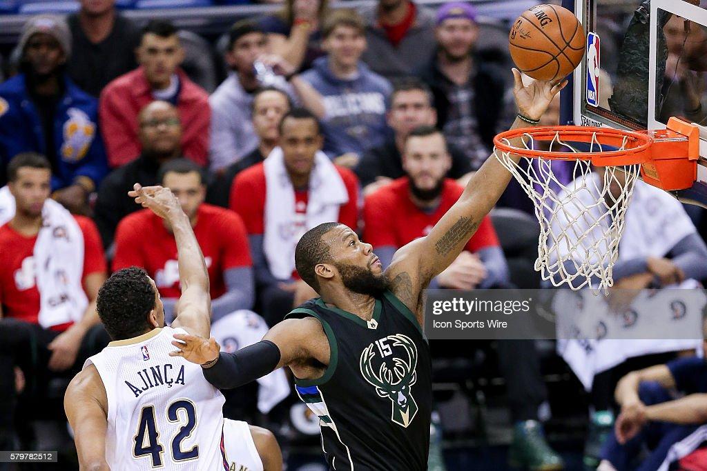 NBA: JAN 23 Bucks at Pelicans : News Photo