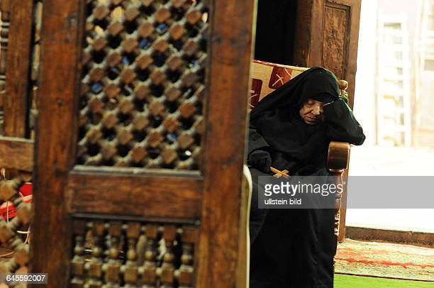 January 23 Cairo Egypt A nun is sleeping inside the Saints Sergius and Bacchus church in old Cairo With between 9 to 12% of the overall Egyptian...