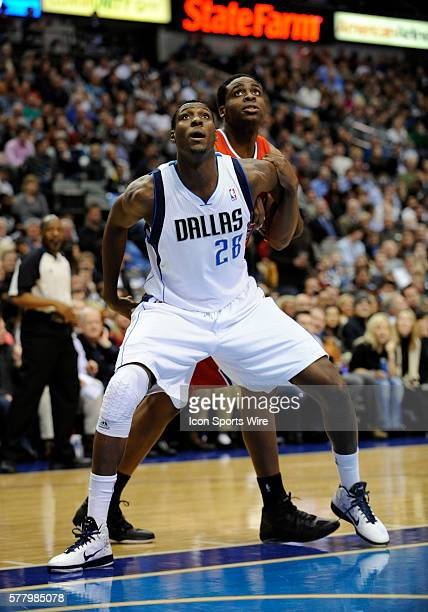 Dallas Mavericks center Ian Mahinmi in an NBA game between the Los Angeles Clippers and the Dallas Mavericks at the American Airlines Center in...