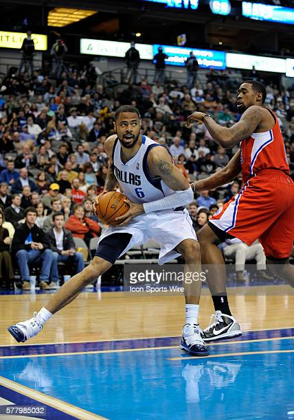 Dallas Mavericks center Tyson Chandler in the paint in an NBA game between the Los Angeles Clippers and the Dallas Mavericks at the American Airlines...