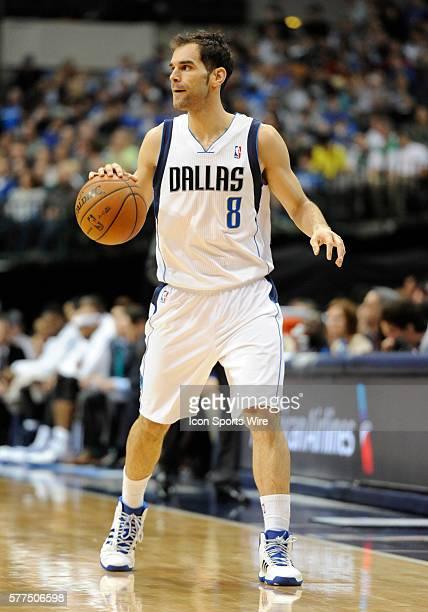 Dallas Mavericks point guard Jose Calderon scored 17 points during an NBA game between the Detroit Pistons and the Dallas Mavericks at the American...
