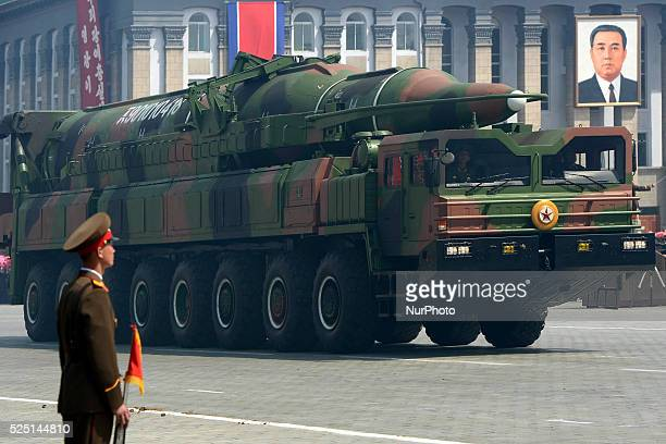 Photo provided by Korean Central News Agency on 2015 North Korea said it had successfully conducted a test of a miniaturized hydrogen nuclear device...