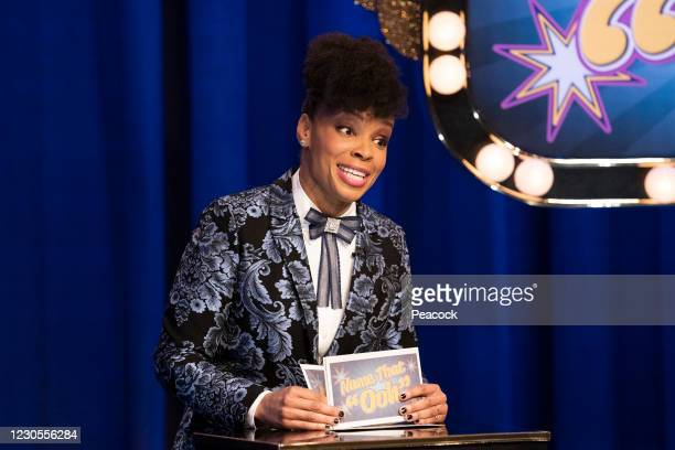 """January 8, 2021"""" Episode 111 -- Pictured: Amber Ruffin --"""