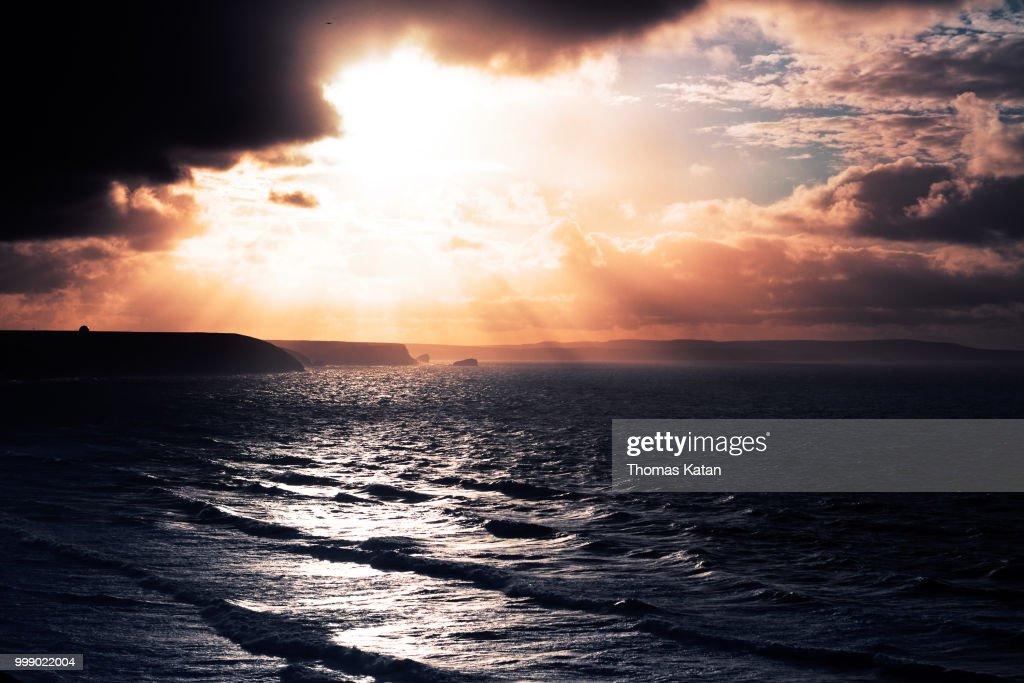 January Cornwall IMG : Stock Photo