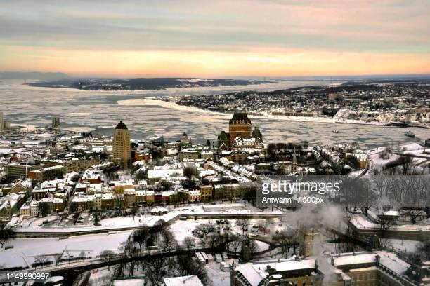 january gold - lévis quebec stock pictures, royalty-free photos & images