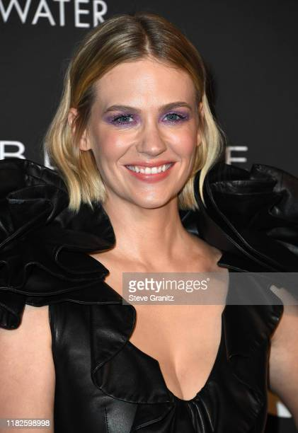January Jones arrives at the 2019 InStyle Awards at The Getty Center on October 21 2019 in Los Angeles California