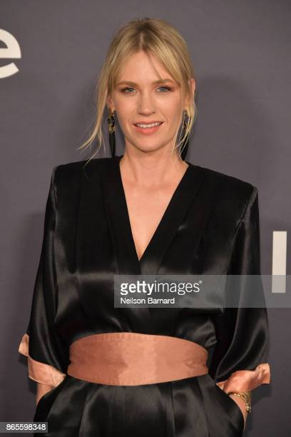 January Jones attends 3rd Annual InStyle Awards at The Getty Center on October 23 2017 in Los Angeles California
