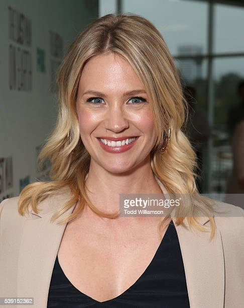 January Jones attends an Awardsline Screening For FOX's 'The Last Man On Earth' at Landmark Theatre on June 9 2016 in Los Angeles California