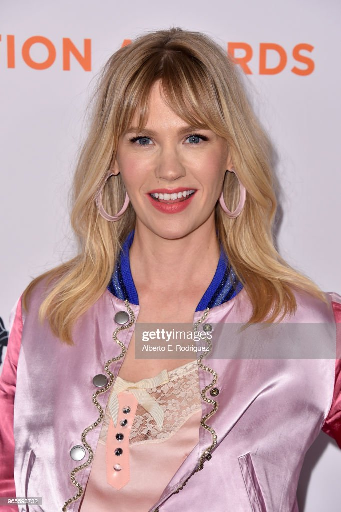 January Jones attends Step Up's 14th annual Inspiration Awards at the Beverly Wilshire Four Seasons Hotel on June 1, 2018 in Beverly Hills, California.