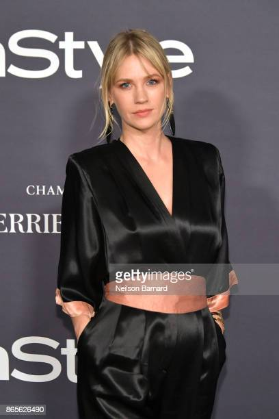 January Jones attends the 3rd Annual InStyle Awards at The Getty Center on October 23 2017 in Los Angeles California