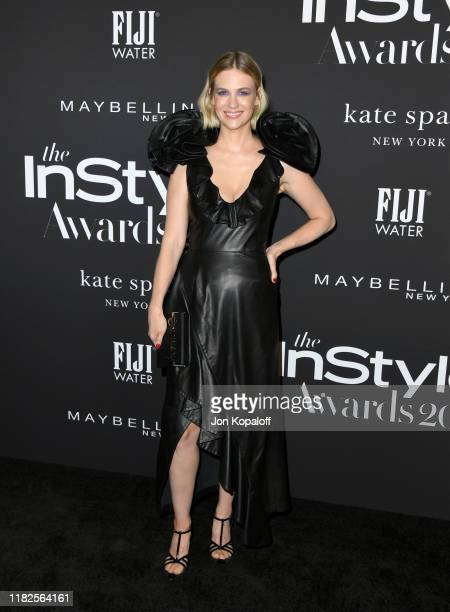 January Jones attends the Fifth Annual InStyle Awards at The Getty Center on October 21 2019 in Los Angeles California