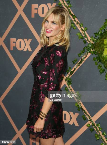 January Jones attends the FOX Fall Party on September 25 2017 in Los Angeles California