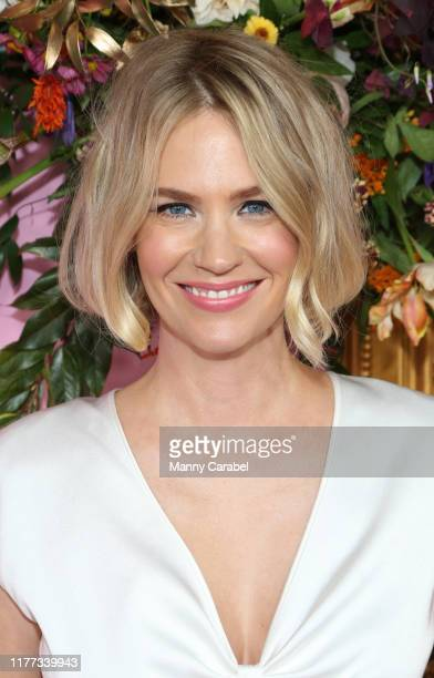 January Jones attends The Politician New York Premiere at DGA Theater on September 26 2019 in New York City